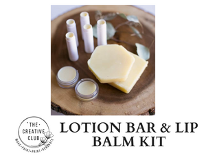 SPA: LOTION BAR AND LIP BALM KIT