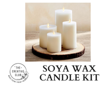 Load image into Gallery viewer, SOYA: SOYA WAX CANDLE KIT