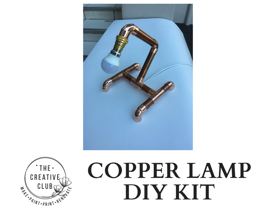 COPPER LAMP DIY