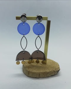 SALE item!! Quirky perspex earrings