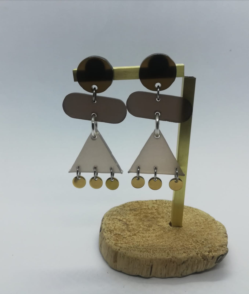 SALE ITEM!! PERSPEX EARRINGS nr.2