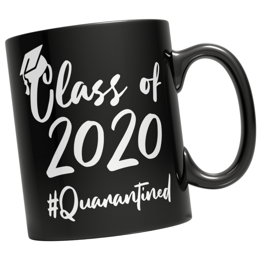 Class of 2020 Quarantined Mug - Black