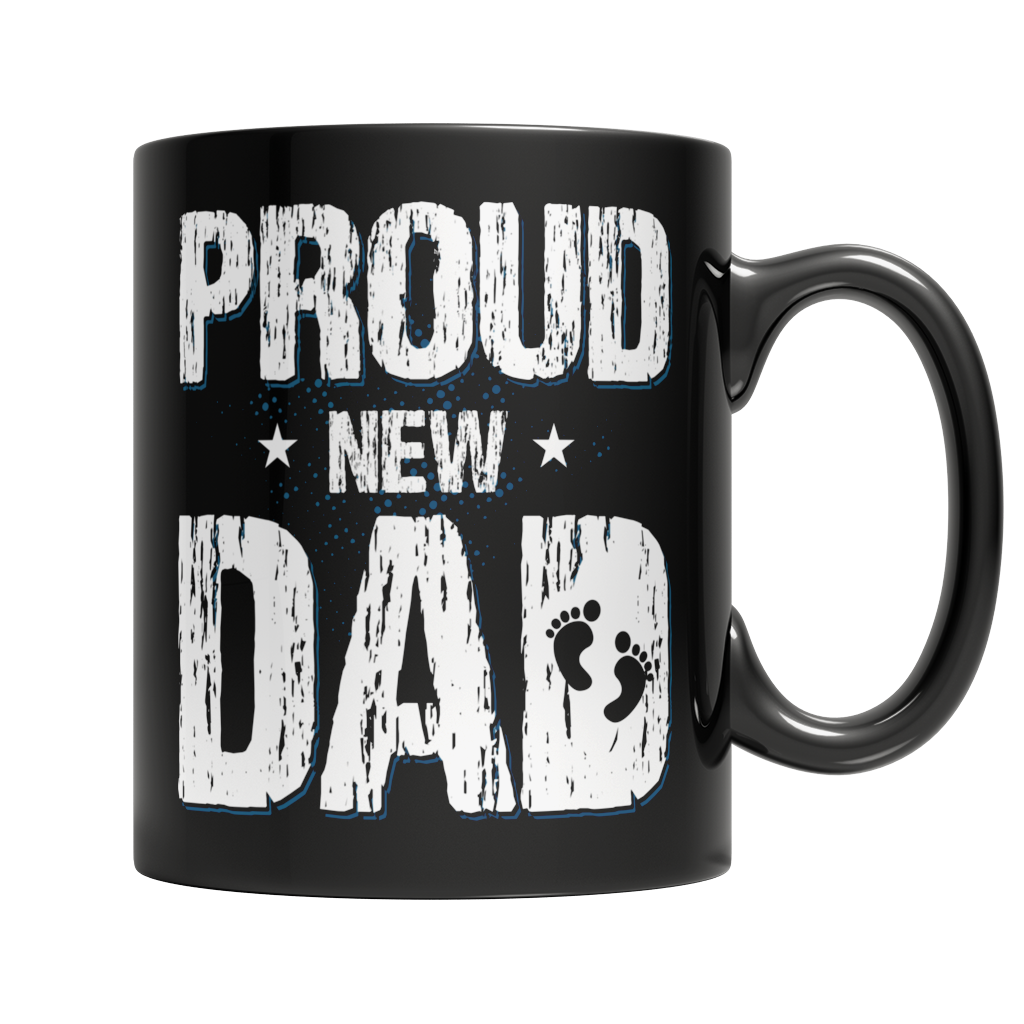 Proud New Dad Mug