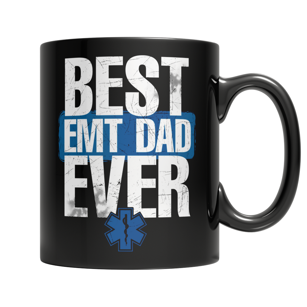 Best EMT Dad Ever - Mug Black