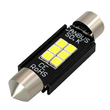 Load image into Gallery viewer, 2PCS 41mm 3030 6 SMD Festoon Dome Car Light
