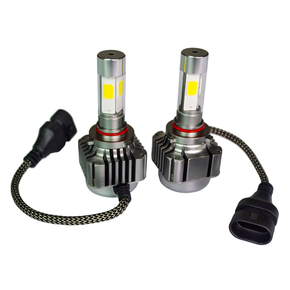 2pcs 40W 4800LM 9005 9006 H10 LED Light Car Headlight