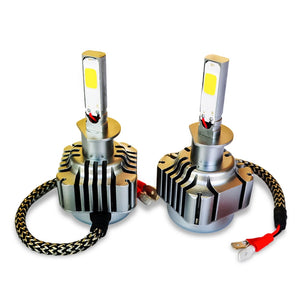 2pcs 40W 4000LM H1 LED Light Car Headlight 6000K