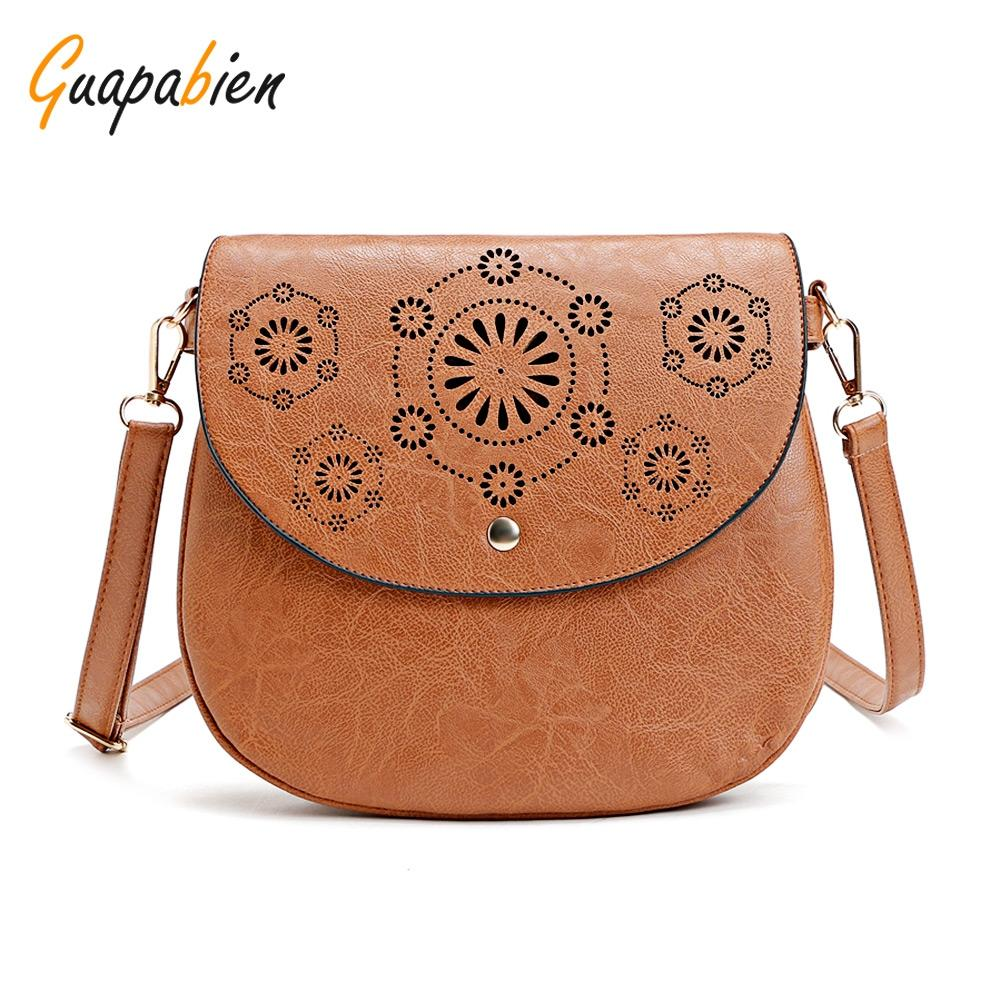 Guapabien Fashionable Hollow Out Flap Hasp
