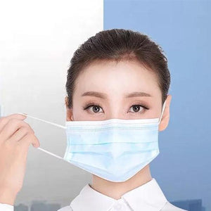 Disposable Isolation Face Mask Fitter Activated Carbon