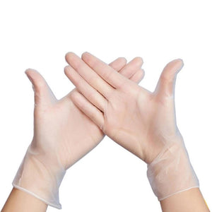 General display Transparent Disposable Protective Gloves8
