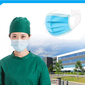 5pcs 3 Layer Non-woven Dust Masks 2020 Thickened