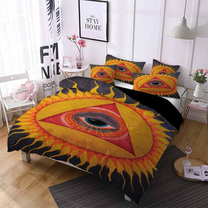 2020 Home Decor Sun and Moon Comforter Sets Black