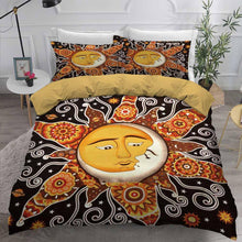 Load image into Gallery viewer, Sun and Moon Comforter Sets Bedding Sets for Boys&girls Bedroom