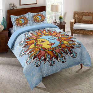 2020 Home Decor Sun and Moon Bedding Sets for Kids Bedroom