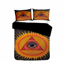 将图片加载到图库查看器,2020 Home Decor Sun and Moon Comforter Sets Black