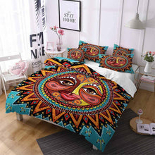 Load image into Gallery viewer, 2020 Sun and Moon Duvet Sets Colorful Bedding Sets for Kids Bedroom