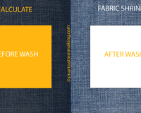 How To: Calculate  Fabric Shrinkage In 3 Easy Steps