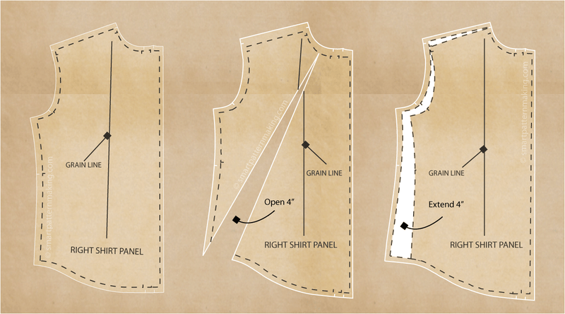 Shirts Pattern Alteration Using the Seam Method