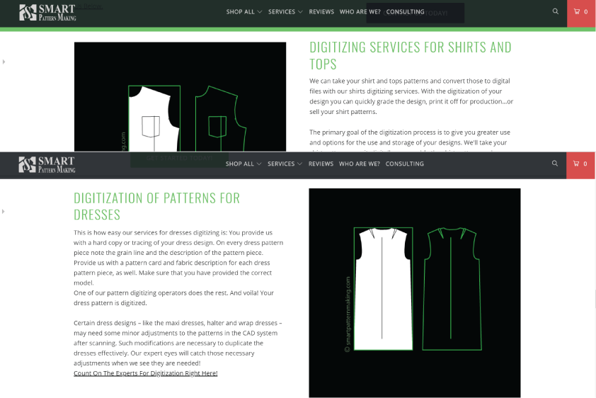 Pattern Digitizing And Scanning For Apparel Industry