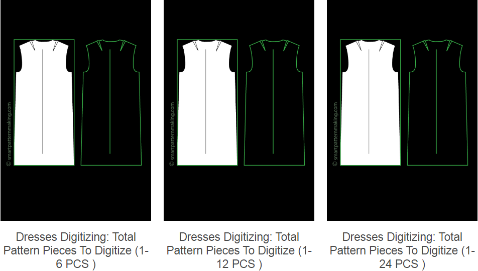 Digitizing Dresses Scanning Maxi Dress Patterns