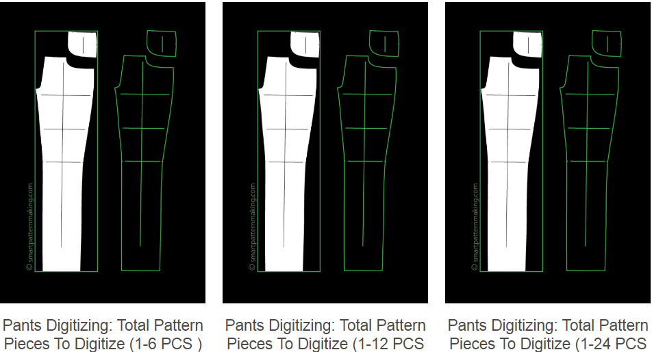 Digitizing Pants Patterns