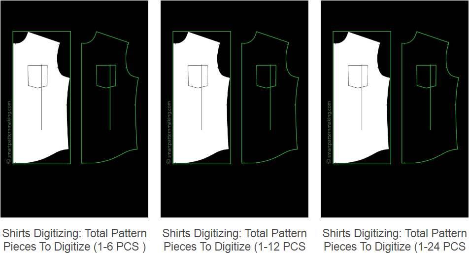 Digitizing Shirts Patterns