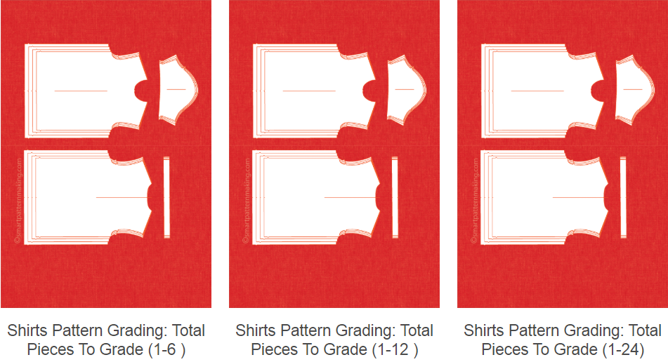 Grading Shirts Patterns