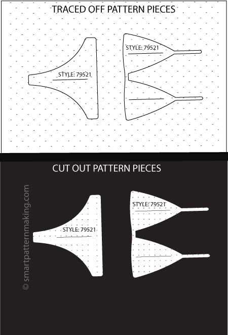 Bikinis Paper Pattern Cutting - smart pattern making