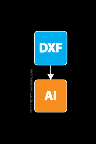 Convert DXF To Illustrator (1-48 Pcs.)
