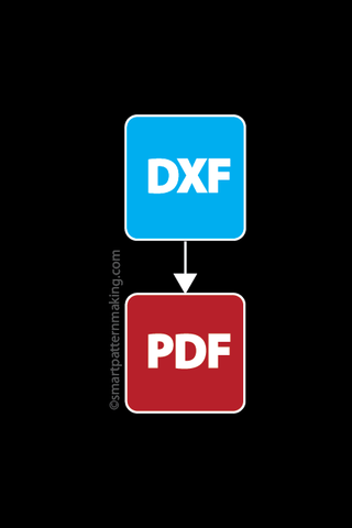 Convert DXF File To PDF (1-12 Pieces)