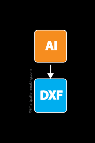 Convert Illustrator File To DXF.  (1-12 Pieces)