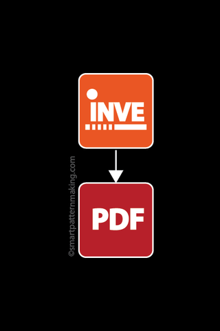 Convert Investronica DXF File To PDF (1-24 Pieces)