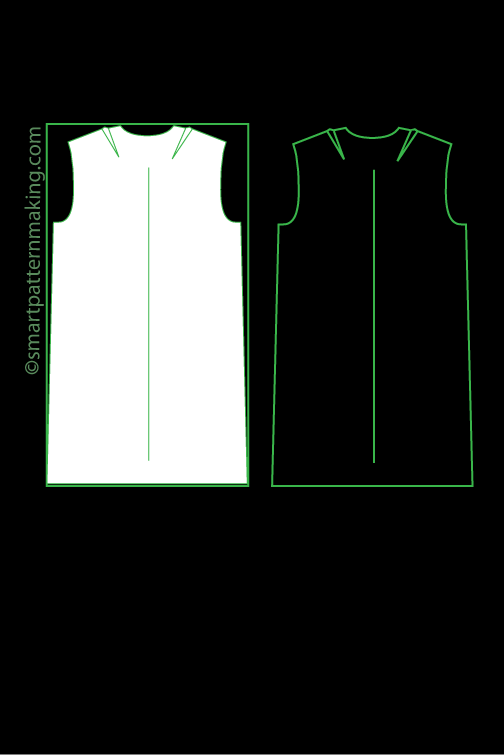 Dresses Pattern Digitizing - smart pattern making