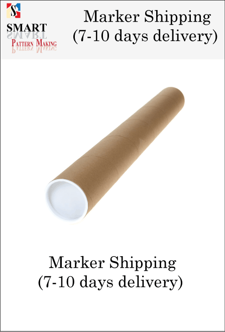 Shipping Tube 1-6 YDS.  (7-10 DAYS DELIVERY)