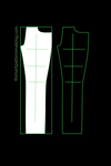 Pants Digitizing: Total Pattern Pieces To Digitize (1-12 PCS ) - smart pattern making
