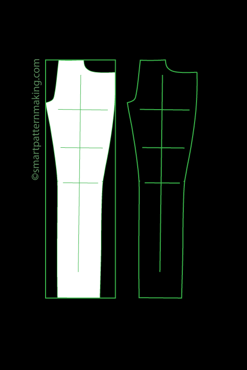 Pants Pattern Digitizing
