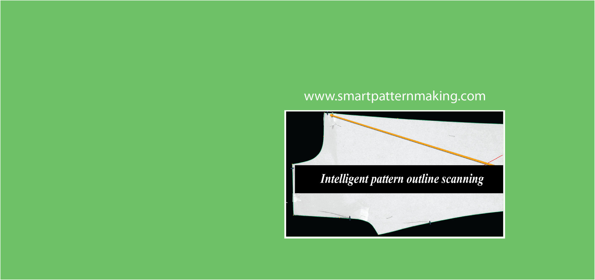 Accurate, fast and true pattern outline scanning services.