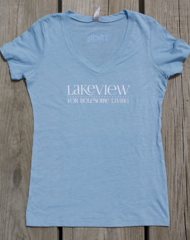 Lakeview - fitted v-neck