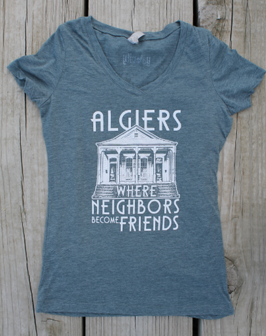 Algiers - fitted v-neck