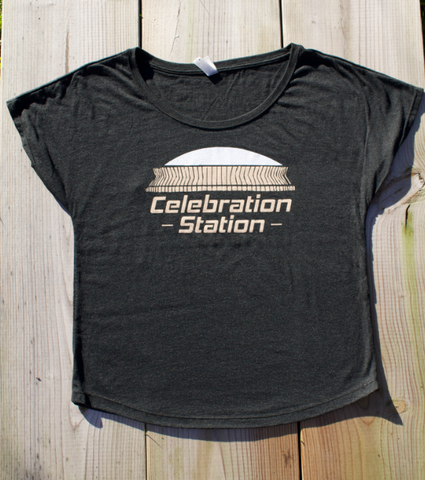 Celebration Station - ladies dolman & unisex