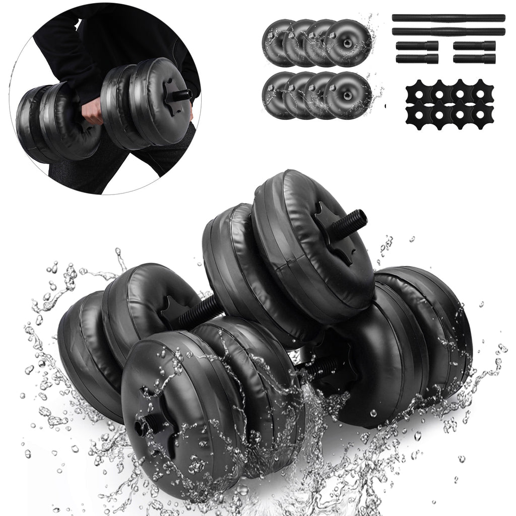 25KG WATER FILLED DUMBBELLS *HEAVY DUTY*