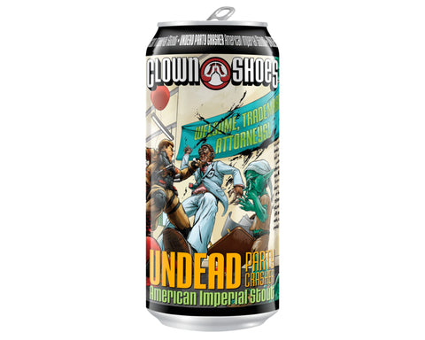 Clown Shoes - Undead Party Crasher - American Imperial Stout