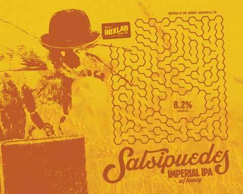 Boxlab - Salsipuedes - Imperial IPA