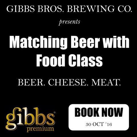 'Matching Beer with Food' Class - Sydney