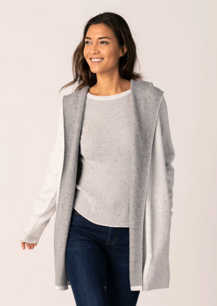 ST. Maarten Cardigan - Light Grey