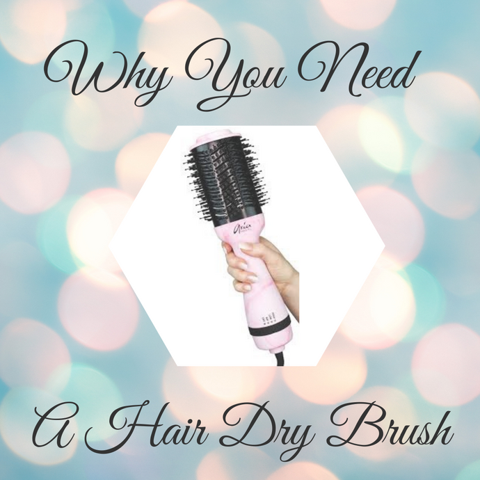Why you need a hair dryer brush