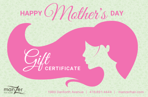 Mothers Day Gift Card - Manzer Hair Studio