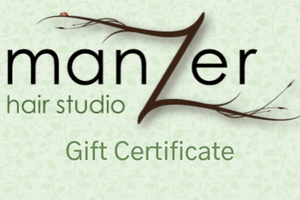 Manzer Hair Gift Card - Manzer Hair Studio