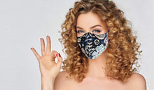 Load image into Gallery viewer, Adult- Reusable Cotton face mask - Manzer Hair Studio