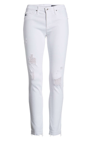 AG Farrah High-rise Skinny Ankle Jeans / EQUATION Boutique